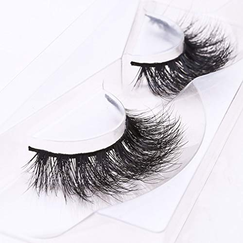 Arimika Long Thick Dramatic Look Handmade Reusable 3D Mink False Eyelashes For Makeup 1 Pair Pack in Style D008