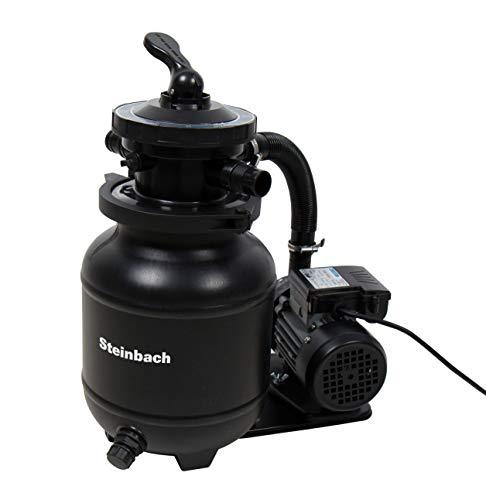 Steinbach Filteranlage Active Balls+, Umwälzleistung: 3,8m³/h, 230 V/200 W, 7-Wege-Ventil, Anschluss Ø 32/38 mm, 320 g Filter Balls, 040386