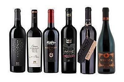 Probierpaket mit 6 TOP-Rotweine Bulgariens