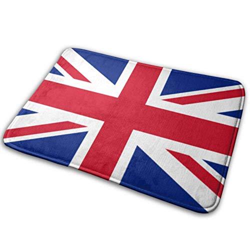 SundriesShop Felpudo Bandera de Interior Reino Unido Union Jack Alfombra de baño Divertida Alfombra de baño Antideslizante 40x60 cm en súper Absorbente y Gruesa