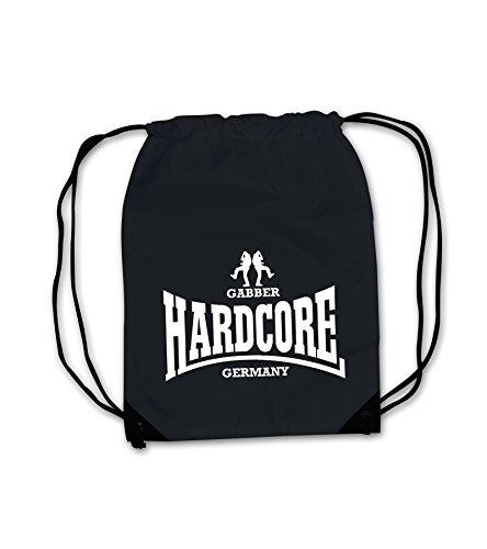 Turnbeutel Hardcore Gabber Germany Gabba Unisex Beutel Rucksack Bag