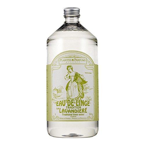 Eau de Linge / Bügelwasser / Wäschewasser Verveine (Verbene oder Eisenkraut) aus der Provence, 1 Liter