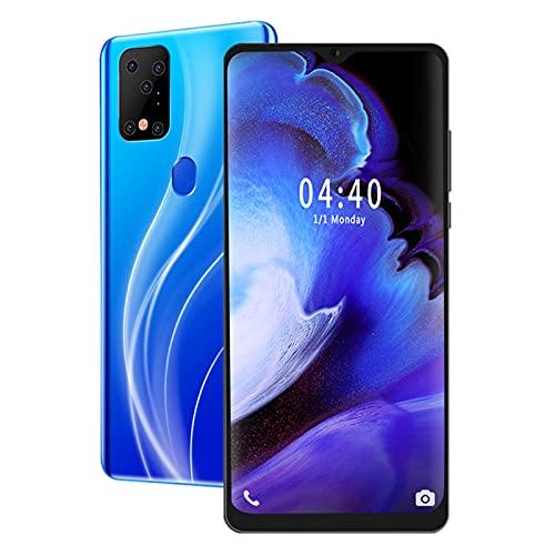 ciciglow Teléfono Android, MIQOO S20Plus 6.7 Pulgadas Rostro Huella Digital Desbloqueado Smartphone Quad Core 6 + 64G Teléfono móvil con 2800mAh para Android 9.1(Enchufe de la UE)