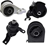 ENA Front Rear Left Engine Motor and Tran Mount Set 4pcs Compatible with 2005-2012 Ford Escape Mazda Tribute Mercury Mariner A5412 A5441 A5446 A5481
