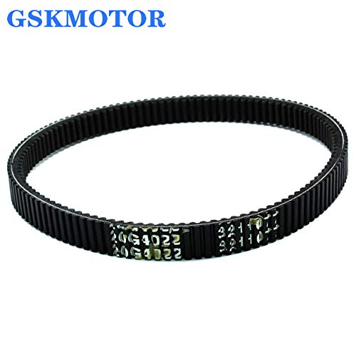 GSKMOTOR Drive Belt Fits for Polaris 4x4 3211077 3211048 3211072,High Performance Drive Belt Practical Accessory Replacement