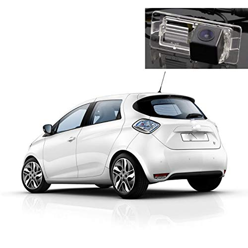 NsbsXs Auto Rückfahrkamera,Auto HD Umkehrbild Kamera Nachtsicht Wasserdicht Dedicated Rückfahrkamera,Für Renault Zoe 2012~2020