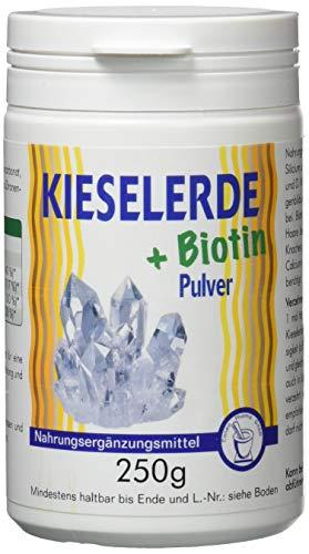 Pharma-Peter KIESELERDE + BIOTIN Pulver, 250 g