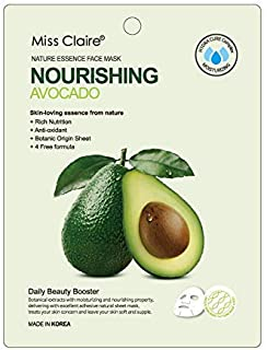 Miss Claire Miss Claire Face Mask Avocado, White, 25 Milliliters, White, 25 ml