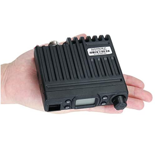 Radioddity CB-27 Mini CB Radio Mobile 40-Channel, AM Instant Emergency Channel 9/19, RF Gain with Removable Microphone 5