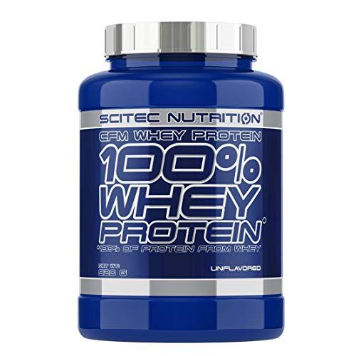 Scitec Nutrition Whey Protein Proteína sin Sabor - 920 g