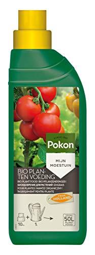 Pokon Bio Pflanzendünger, Flüssigdünger, Bio-Pflanzennahrung für Gemüse und Kräuterpflanzen, 500 ml