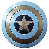 Escudo Capitan America Material ABS, Adulto y NiñOs 1: 1 Cosplay Props Retro Wall Creative Shield Bar Decoración 58CM