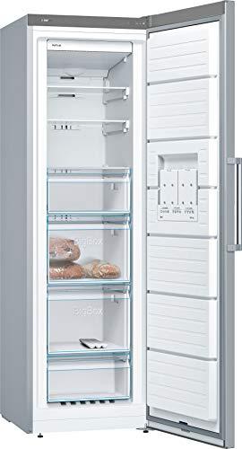 Bosch Elettrodomestici Serie 4 GSN36XL3P congelatore Libera installazione Verticale Acciaio inossidabile 242 L A++