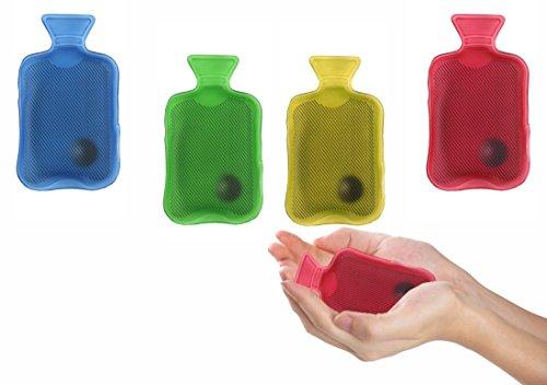 Scaldamani a forma di mini borsa d'acqua calda 7 x 12 cm utilizzabile all'infinito. MWS