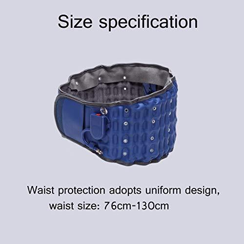 correas hinchables Cintur/ón de alivio de presi/ón de la espalda de fisio apoyo lumbar de la cintura baja