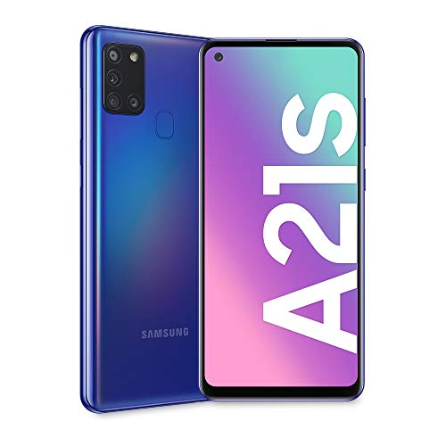 Samsung Galaxy A21s, Smartphone, Display 6.5' HD+, 4 Fotocamere...