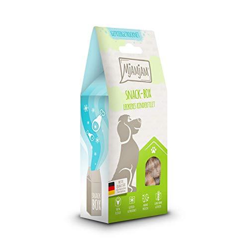 MjAMjAM Premium Snackbox für Hunde - leckeres Rinderfilet, gefriergetrocknet, 1er Pack (1 x 70 g)