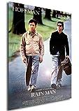 Instabuy Poster Rain Man Vintage Theaterplakat - A3 (42x30