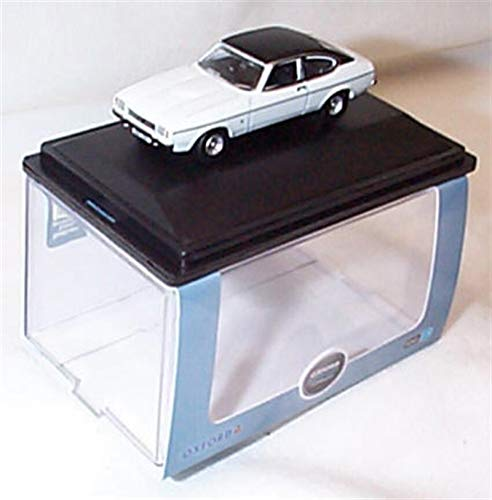Oxford White Ford Capri Mk2 Car vehicle 1:76 scale diecast model