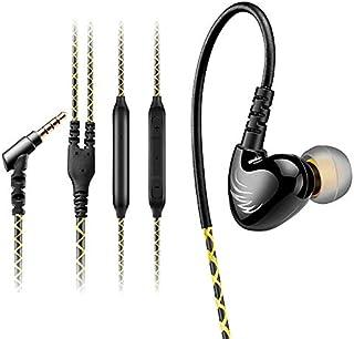 AGPTEK In-Ear Auriculares Deportivos con Micrófono, Control de Volumen, Resistente al Sudor y con Aislamiento de Ruido, 3....