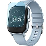 Vaxson 3-Pack Anti Blue Light Screen Protector, compatible with <span class='highlight'><span class='highlight'>eLinkSmart</span></span> Judneer p22 smartwatch Smart Watch, Blue Light Blocking Film TPU Guard [ NOT Tempered Glass ]