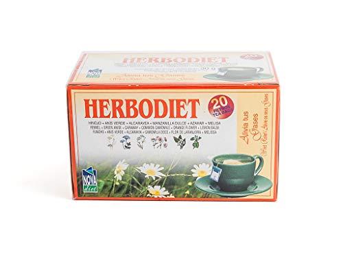 Novadiet Infusion Herbodiet Alivio Gases - 1 Paquete De 20 Filtros