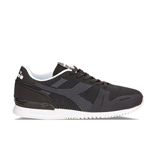 Diadora Titan Weave Sneakers Heren Zwart - 36 - Lage Sneakers Shoes