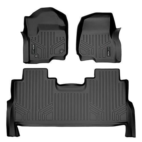 MAXLINER A0246/B0246 for 2017-2021 F-250/F-350 Super Duty Crew Cab with 1st Row Bucket Seats, Black