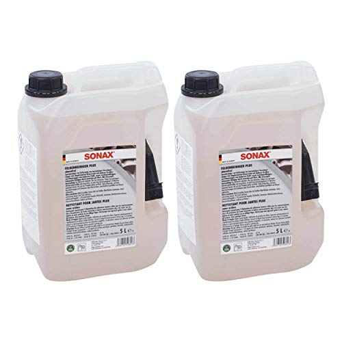 Sonax Llanta limpiador Plus No corrosivo 02305000, Juego de 2