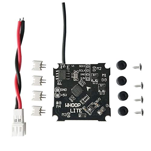 Alomejor Mini Brushed Flugsteuerung, Brush Flight Controller Board mit Silverware Firmware Miniatur Brushed Flugzeug Racing Fernbedienung