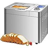 COOCHEER Macchina per il pane in acciaio inox Backmeister con 25 programmi di...