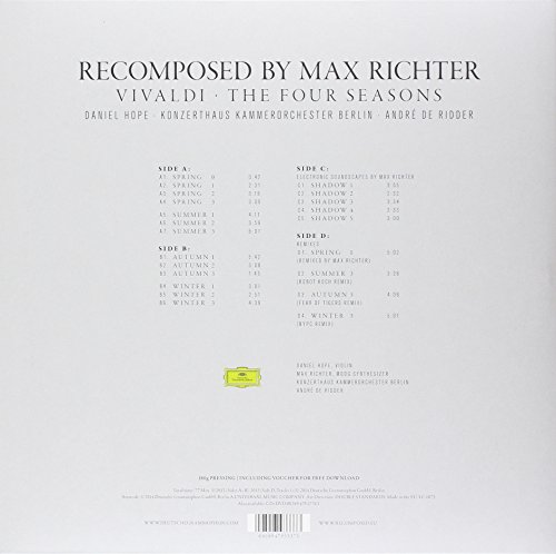 Recomposed By Max Richter: Vivaldi, The Four Seasons [VINYL]
