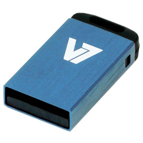 V7 VU232GCR-BLU-2E V7 Unidad de memoria flash USB 2.0 nano 32GB, azul