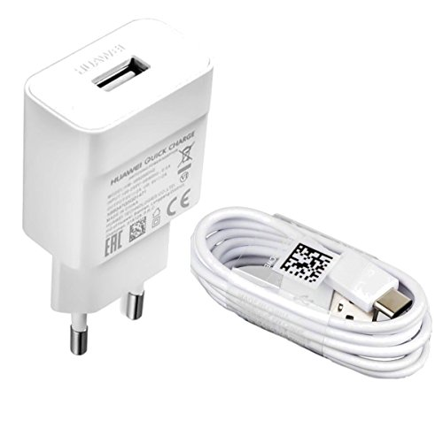 Original Schnell-Ladegerät HW-059200EHQ QuickCharge Ladekabel Typ-C kompatibel für Huawei Mate 20/ Mate 20 Pro/ Mate 10/P30/P30 Lite/ P20/ P20 Pro/ P20 Lite/ P10/ P10 Plus/ P9/P9 Plus Honor 10/ 8