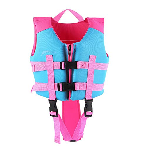 Review Bnineteenteam Kids Life Jacket,Swim Training Aid for Kids Learn-to-Swim Device for Kids Weigh...