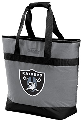 NFL 30 Can Soft Sided Tote Cooler, Oakland Raiders