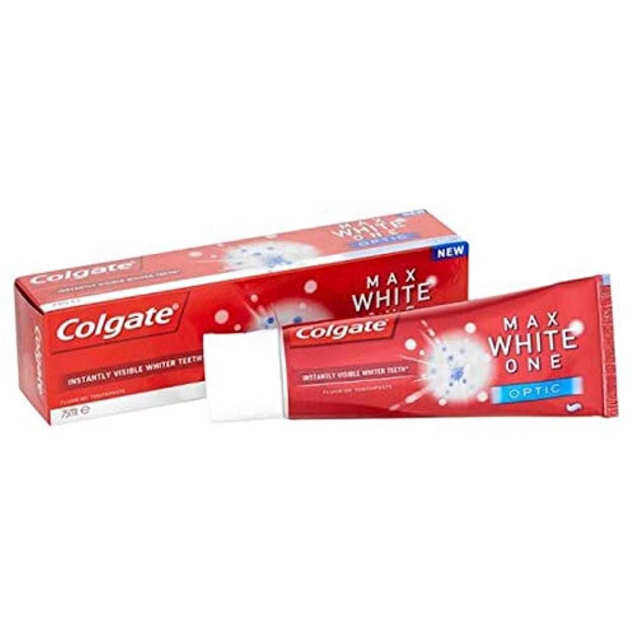 登る思い出させる好奇心盛[Colgate ] コルゲート最大白1つの光学歯磨き粉25ミリリットル - Colgate Max White One Optic Toothpaste 25ml [並行輸入品]
