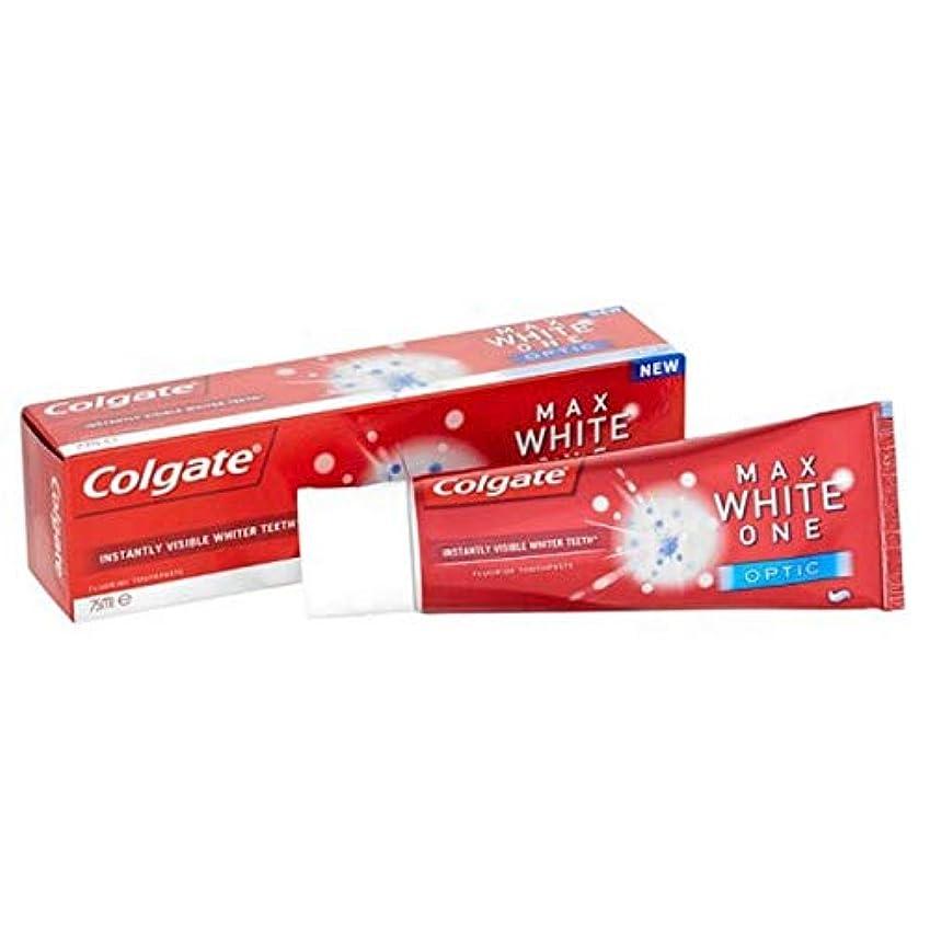 農学近代化する快適[Colgate ] コルゲート最大白1つの光学歯磨き粉25ミリリットル - Colgate Max White One Optic Toothpaste 25ml [並行輸入品]