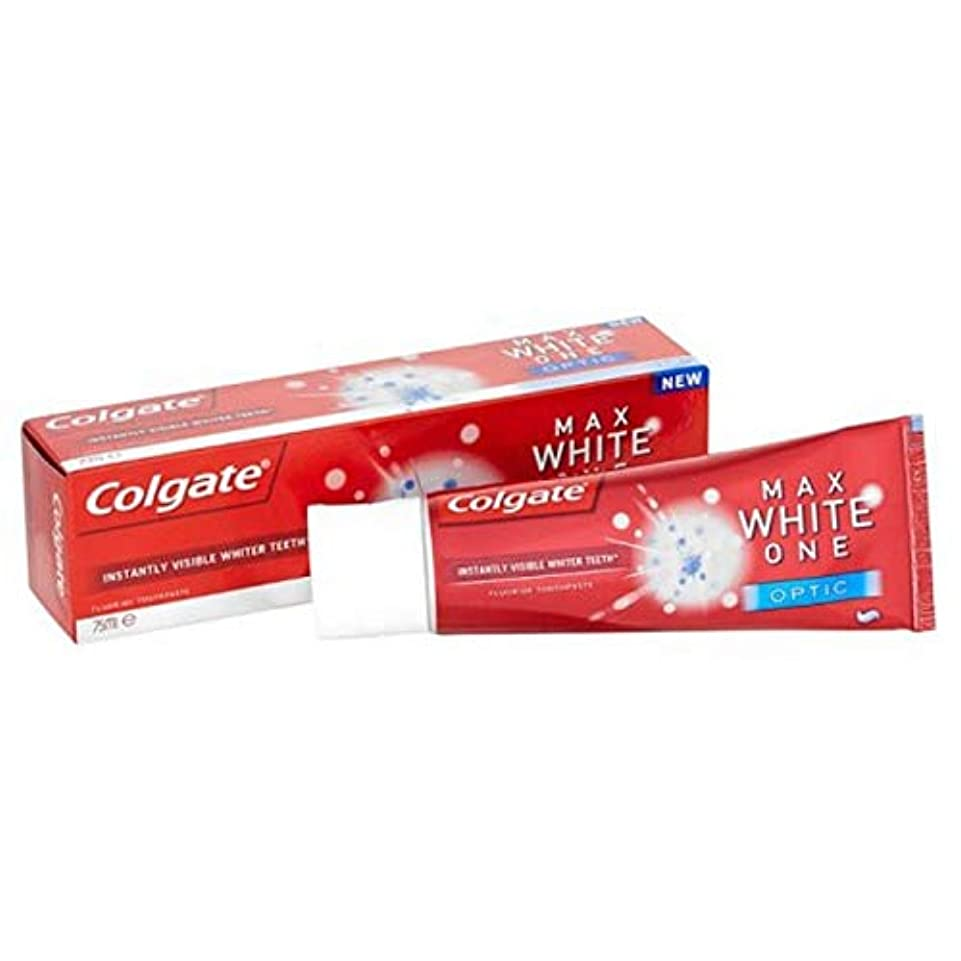 咲くスクレーパー除外する[Colgate ] コルゲート最大白1つの光学歯磨き粉25ミリリットル - Colgate Max White One Optic Toothpaste 25ml [並行輸入品]