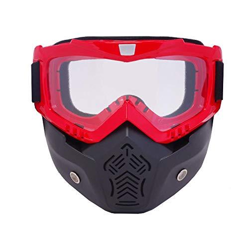 Skibril, spiegelende mannen, vrouwen, skiën, snowboarden, masker, winter, motorschaatsen, skibril, winddicht, skibril, motorcross zonnebril met mondfilter