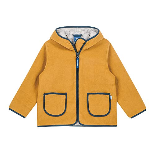 Finkid Fleecejacke TONTTU Zip In Harvest Gold Denim Gr. 90 100