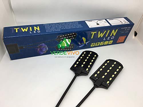 Mantovani Pet Diffusion Plafoniera Twin LED Nera - 208 g
