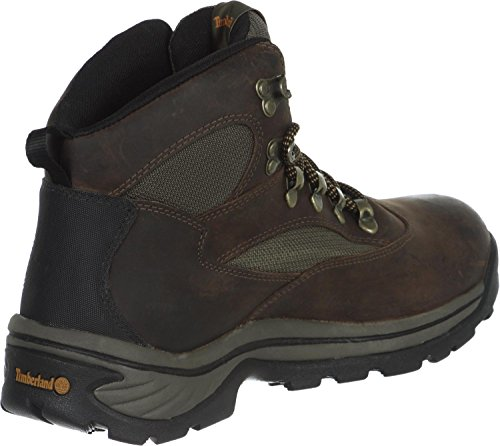 Timberland mens Chocorua Trail Mid Waterproof Snow Shoe, Brown/Green, 9.5 US