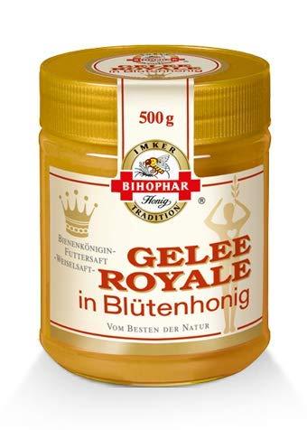 BIHOPHAR – Gelee Royale in Blütenhonig I 500 g Honig