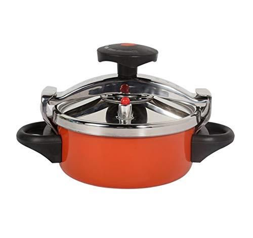 ZBINGAFF Mini-Pression de ménage, cuisinière à Faisceau en Acier Inoxydable, adaptée à Toutes Sortes de poêles, gavage de Temps et d'effort, Facile à Nettoyer, 2L