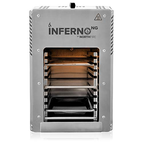 Northfire INFERNONG Inferno Natural Gas, Silver Gas Grills Natural