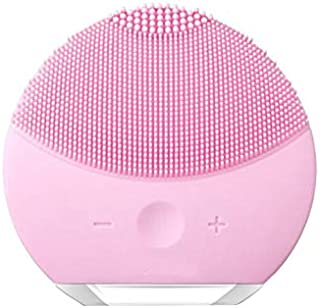 Ameriwal LIINA Mini 2 Anti-Aging Portable Facial Cleansing Brush Gentle Exfoliation and Sonic Cleansing for All Skin Types