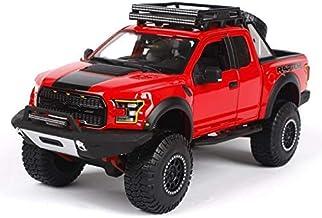 Jary Juguete Modelo de Coche 1:24 camioneta Pickup Modelo de simulación de aleación Modelo de Coche Modelo de Coche, Tamaño: 250X110X100CM (Color: Azul) li (Color : Red Black)