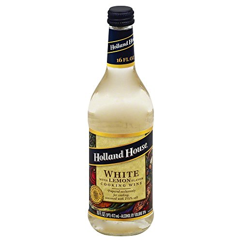 Holland House Cook Wine White Lemon Pack of 4