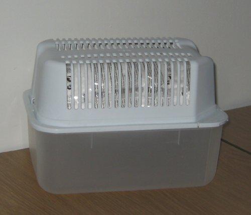 Raumentfeuchter Set: 1 Gerät + 2 Nachfüllpackungen - verhindert Schimmel, Moder, üble Gerüche, Stockflecken